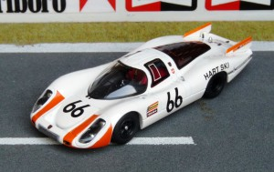 Porsche 907L, Le Mans 1968 (2. Platz, Steinemann - Spoerry), Modell: Schuco