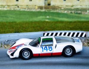 Porsche 906, Targa Florio Sieger 1966, Modell: Solido