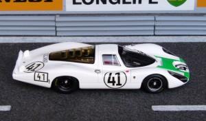 Porsche 907L, Le Mans Langheck 1967 (Modell: Spark)