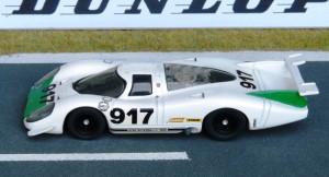 Porsche 917, Vorstellung beim Genfer Autosalon 1969 (Modell: Record)