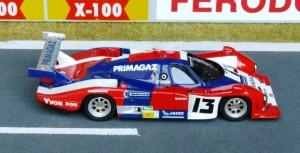 Cougar Porsche C12, Le Mans 1985 (Modell: DAM)
