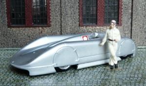 Auto Union Rekordwagen, Januar 1938 (Rosemeyer), Modell: Brumm