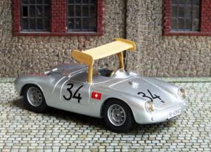 Porsche 550 Michael May, Nürburgring 1956 (1000 km-Rennen), Basis: Bausatz von Vroom