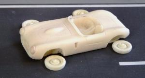 Borgward 1500 RS 1953, Gussteile eines englischen Modellbauers