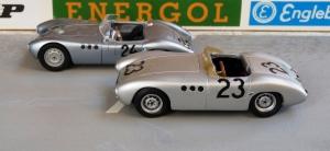 "Borgward RS 1958, vorn: ""hm"" Modell, hinten: Premium Classics"
