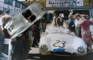 Borgward 1500 RS am Nürburgring 1958 (1000 km Rennen)