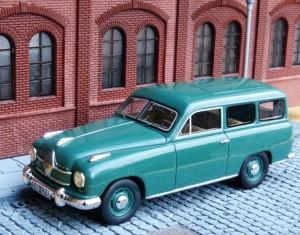 Borgward Hansa Kombi, Modell: BoS