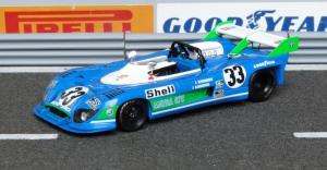 Matra MS 670B, Watkins Glen 1973, Pescarolo - Larrousse (Sieger), Modell: Spark