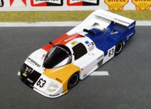 Porsche 936C Le Mans 1986, Modell: Spark