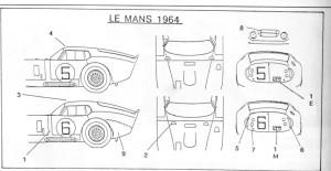 Cobra 5 und 6 1964 Zeichng